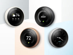 Nest thermostat now comes in different colors