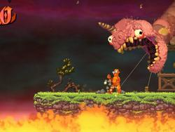 Indie fencing game Nidhogg is coming back with a wild new look