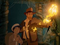 Spectacular fan-made Indiana Jones cartoon is a must-see