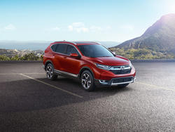 2017 Honda CR-V features series' first turbocharged engine