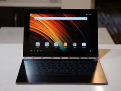 Lenovo Yoga Book: The tiny laptop with a virtual keyboard