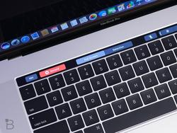 Students are using the MacBook Pro's Touch Bar to cheat