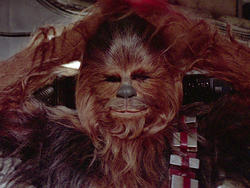 Star Wars: Listen to Chewbacca speak english in awesome behind the scenes video