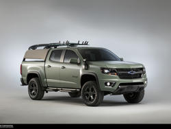 Colorado Z71 Hurley Concept is the surfer's dream truck