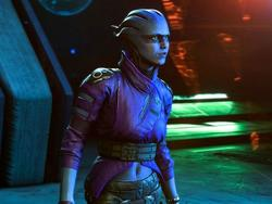 Meet the first two crew mates in Mass Effect: Andromeda - Liam and Peebee
