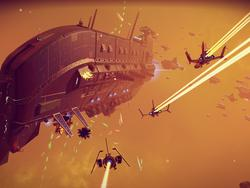 No Man's Sky patch finally brings those massive space battles