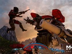 Mass Effect: Andromeda gameplay shows off combat and exploration