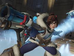 Overwatch: Bans coming to players who used Mei's wall in obnoxious cheat