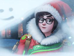 Overwatch: Blizzard says sorry for Mei's legendary Christmas skin