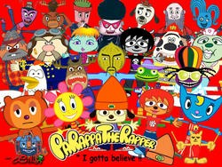 Celebrate 20 years of PaRappa the Rapper with his greatest hits!