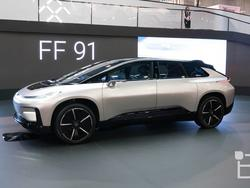 Faraday Future FF 91: We get a closer look at the future