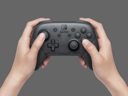 Nintendo Switch Pro Controller packs 40 hours on one charge