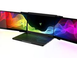 Razer's Project Valerie is a beastly laptop that sports three 4K displays