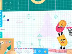 Snipperclips is a day-one launch title on the Switch! $19.99, free demo available