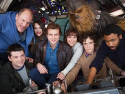 The Han Solo movie sounds like it's in big trouble