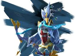 The Legend of Zelda site updates with characters details, and this bird looks like Falco from Star Fox