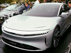 Lucid Motors takes aim at Tesla with gorgeous prototype
