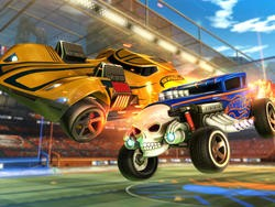Rocket League is crossing over with Hot Wheels for DLC