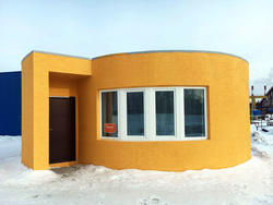 A San Francisco startup 3D printed a house in less than a day