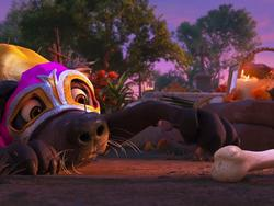 Pixar's new Coco short features an adorable puppy and a magical bone