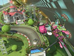 Mario Kart 8 Deluxe runs at 60fps for 1-2 players and 30fps for 3-4