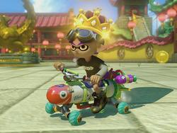 How much data does Mario Kart 8 Deluxe hog on the Switch when tethered?