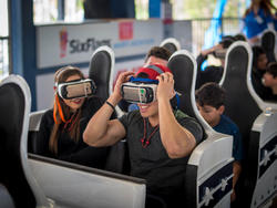 Samsung's Galactic Attack roller coaster takes VR to a new level