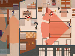 Serial Cleaner - A game where you clean up the mob's mess with stealth in mind