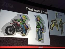 Scrapped Legend of Zelda concept art is radical and probably would have enraged fans