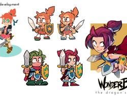 Of course you can play as Wonder Girl in Wonder Boy: The Dragon's Trap