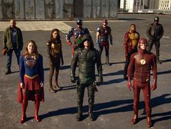 "CW's ""Crisis on Earth-X"" crossover will pack 20-plus superheroes into one scene"