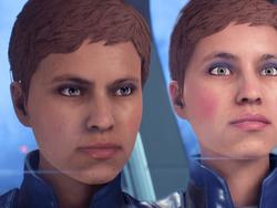 Mass Effect: Andromeda screenshots, video comparison before and after patch 1.05