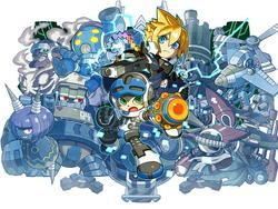 Azure Striker Gunvolt appears at Bit Summit with two new games
