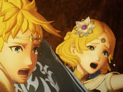 Fire Emblem Warriors' protagonists are two obnoxiously beautiful Super Saiyans