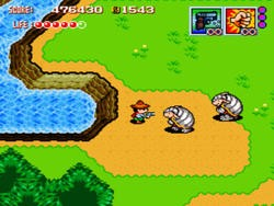 The Legend of Zelda: A Link to the Past clone has guns