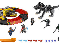 Thor: Ragnarok gets the LEGO treatment in two glorious sets