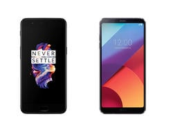 OnePlus 5 vs. LG G6: The OnePlus 5 takes on LG's latest