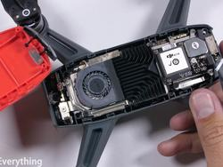 Turns out you can dismantle the DJI Spark and it'll still fly