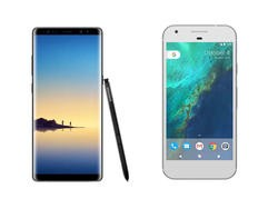 Galaxy Note 8 vs Google Pixel XL: Google is falling far behind Samsung