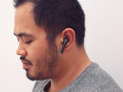 Boost productivity and stay entertained with this wireless solo earphone
