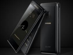 Samsung's high-end flip phone features beastly specs