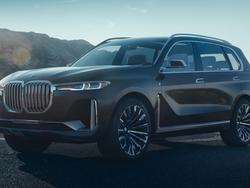 BMW's X7 SUV concept is a large, futuristic family car