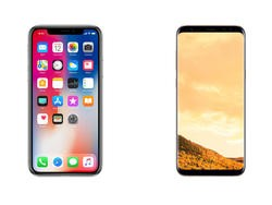 iPhone X vs. Galaxy S8: Has Apple outdone Samsung's nearly perfect smartphone?