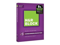 H&R Block Tax Software up to 60% Off on Amazon for Today Only