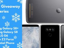 Holiday Giveaway: Win a 2017 flagship phone from Sprint!
