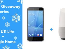 Holiday Giveaway: HTC U11 Life & Google Home!
