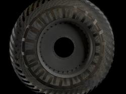 Space-age tires on Mars could mean no flat tires on earth someday