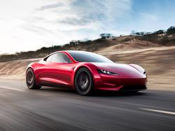 Here's our first look at Tesla's next-gen Roadster blazing down a test track