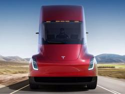 Another company puts in massive order of Tesla's semi truck