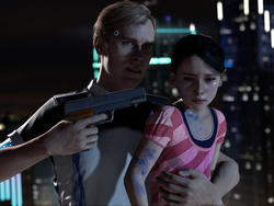 Detroit: Become Human early gameplay—A video game that's a movie